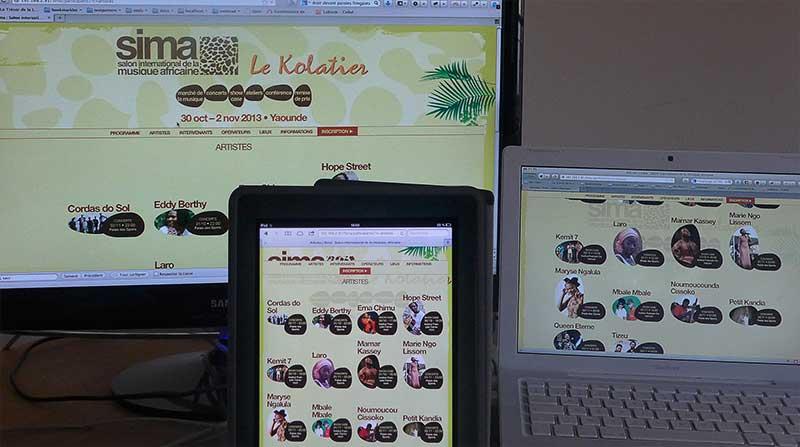 Sima : Home Page