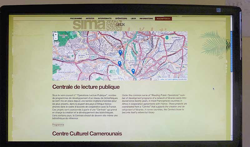 Sima : liste des lieux