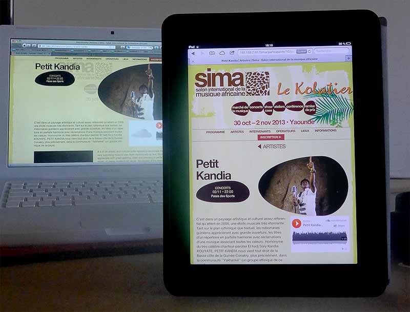 Sima : page artiste