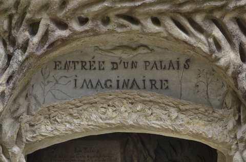 Entrée d'un palais imaginaire